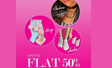 50% Off at Ayesha
