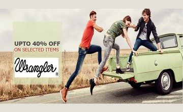 Upto 40% off on selected items