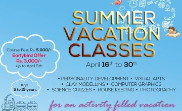 Summer Vacation Classes