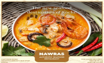 Seafood Destination of Kochi, Nawras
