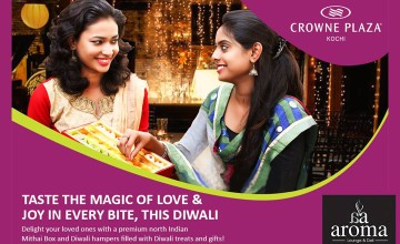 Exclusive Diwali Sweets From Crowne Plaza Kochi