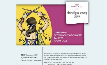 Dandiya Raas 2017 - Live Music, Dance And Food