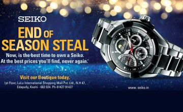 Exciting Offers From Seiko