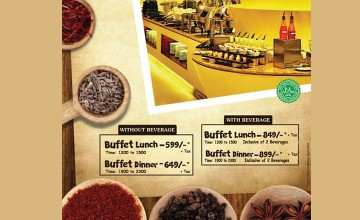 Lunch and Dinner Buffet at Olive Downtown