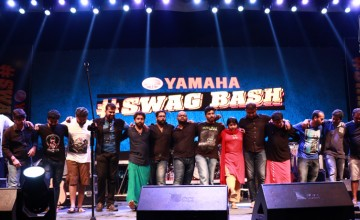 Stunts and Music at the Yamaha #SwagBash by Red FM