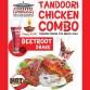 Diwali Special - Tandoori Chicken Combo & Beetroot Shake
