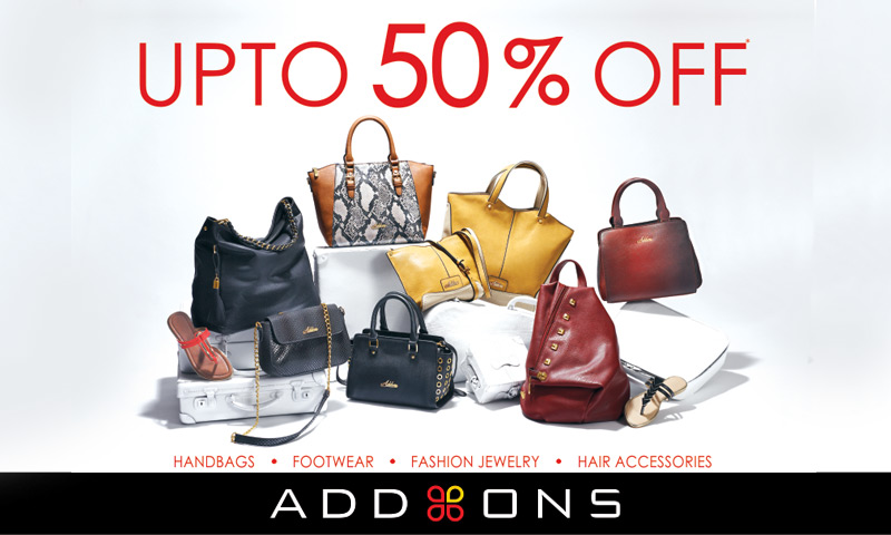 Upto 50% Off Sale at Addons, Lulu Mall