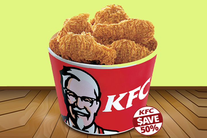 Save 50% off from KFC