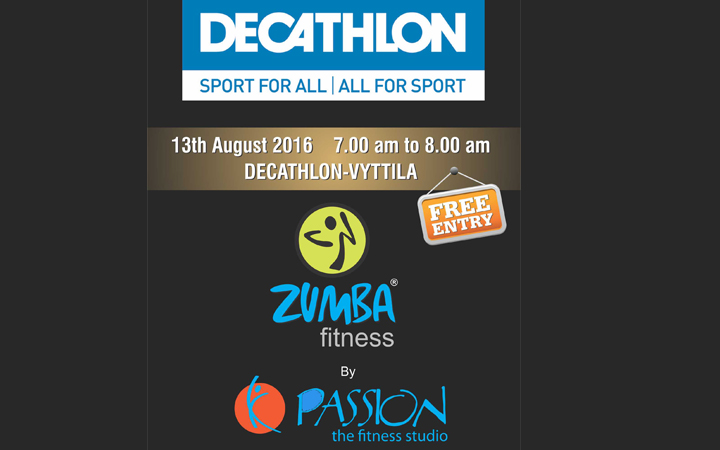 Zumba fitness by Passion